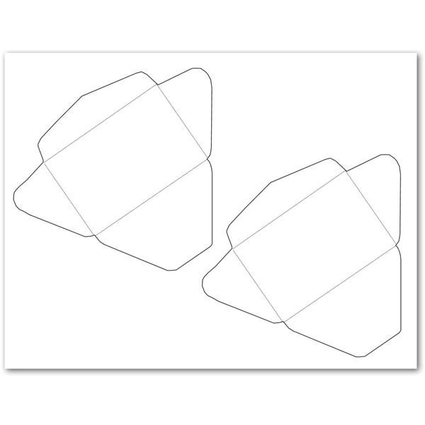 Gift Card Envelope Templates 5 Free Envelope Templates for Microsoft Word