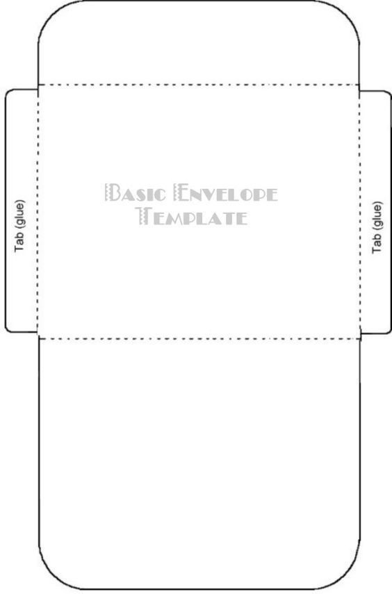 Gift Card Envelope Templates Free Printable Card Envelope Templates