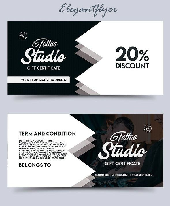 Gift Card Template Psd 51 Premium & Free Psd Professional Gift Certificates