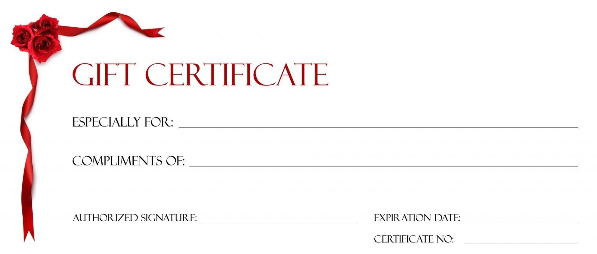 Gift Certificate Template Google Docs Gift Certificate Template for Google Docs