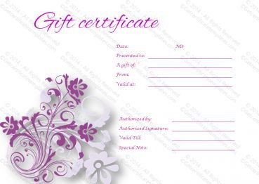 Gift Certificate Template Google Docs Gift Certificate Template Google Docs