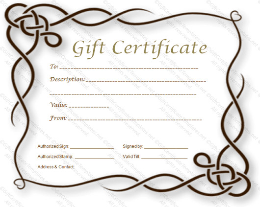 Gift Certificate Template Google Docs Magic Jack Maxwell Google