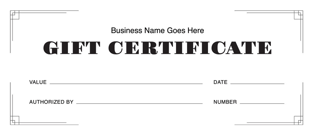 Gift Certificate Templates Free Gift Certificate Templates Download Free Gift