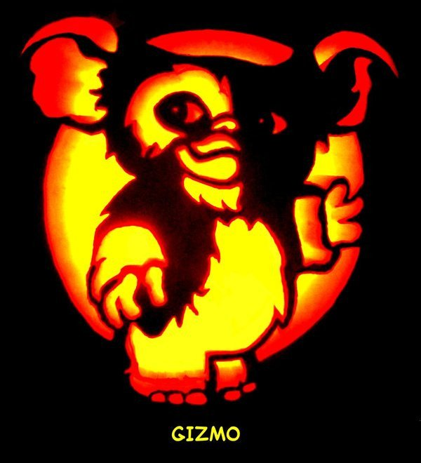 Gizmo Pumpkin Stencil Gizmo Pumpkin Carving by Sleigher75 On Deviantart