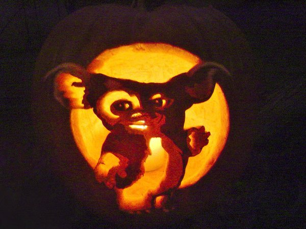 Gizmo Pumpkin Stencil Gizmo the Gremlin by Falconari On Deviantart