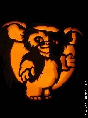 Gizmo Pumpkin Stencil Pumpkins On Pinterest