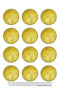 Gold Coin Template Printable St Nicholas Center St Nicholas Coins