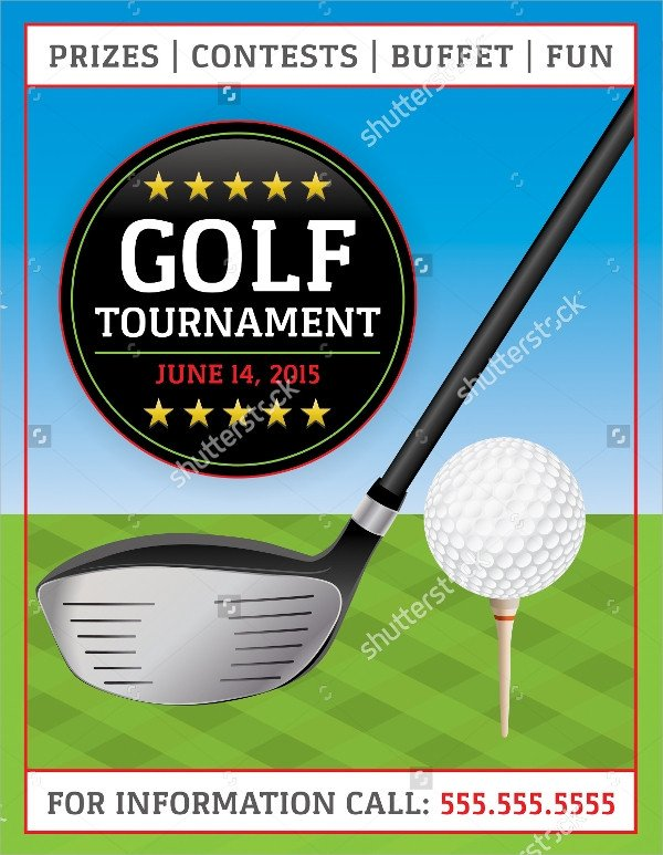 Golf tournament Flyer Templates Golf tournament Flyer Template 23 Download In Vector
