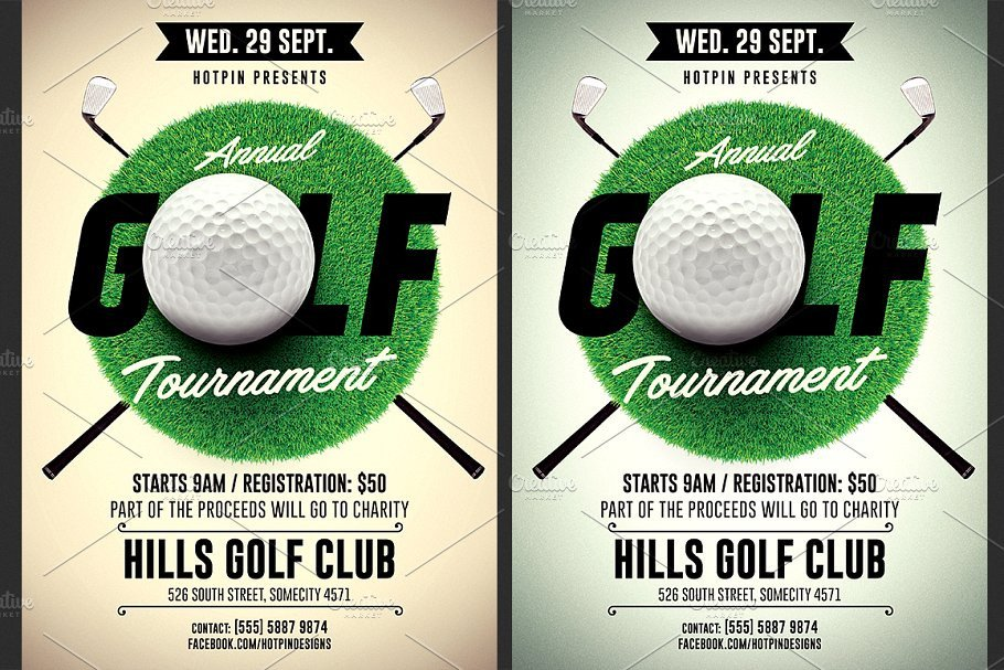 Golf tournament Flyer Templates Golf tournament Flyer Template Flyer Templates