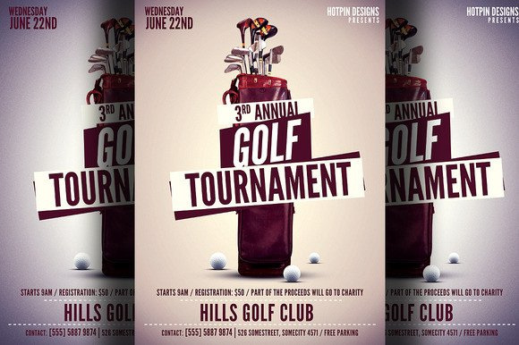 Golf tournament Flyer Templates Golf tournament Flyer Template Flyer Templates On