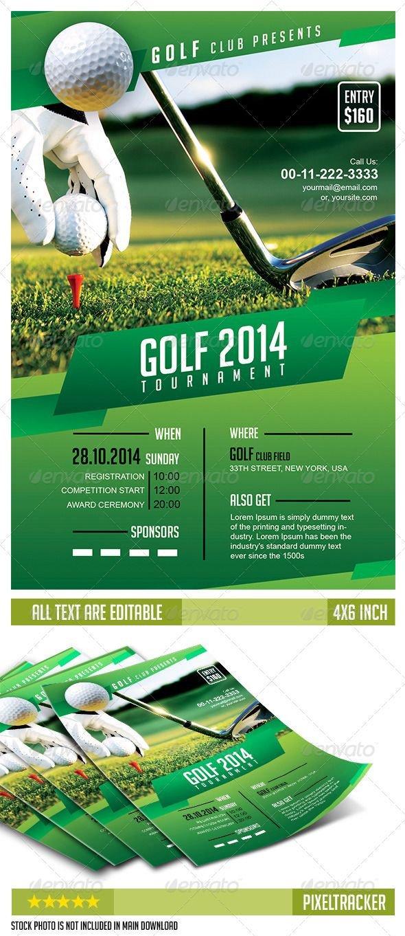 Golf tournament Flyers Template 17 Best Golf tournament Ideas On Pinterest