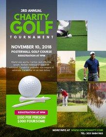 Golf tournament Flyers Template Customize 200 Golf Poster Templates
