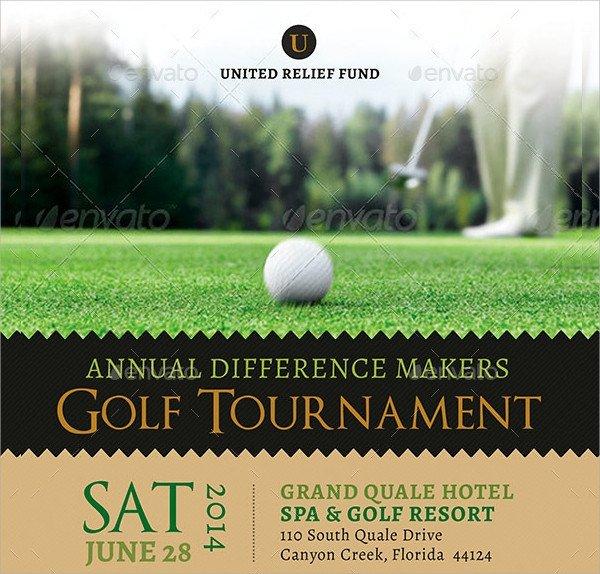 Golf tournament Flyers Template Golf tournament Flyer Template 23 Download In Vector