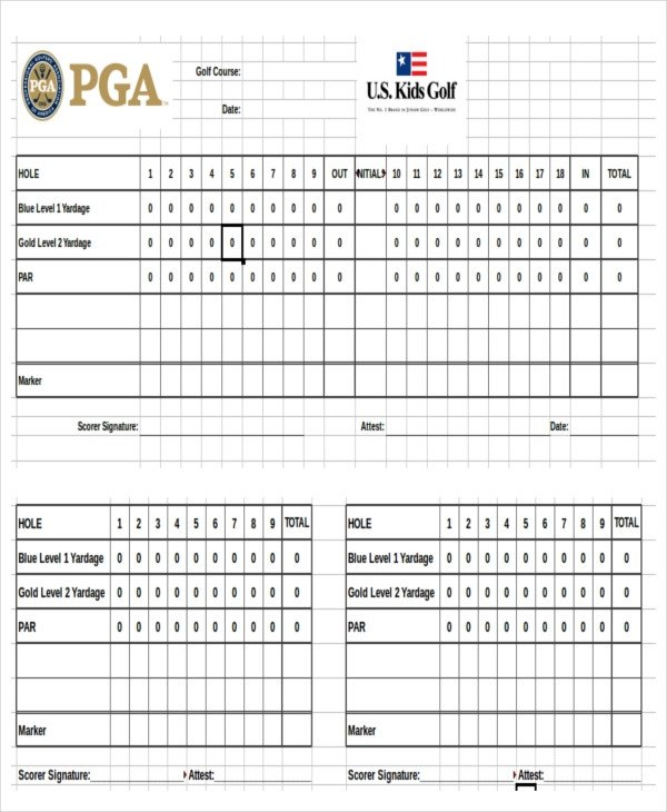 Golf tournament Template Excel 14 Scoreboard Templates & Samples Doc Pdf Excel
