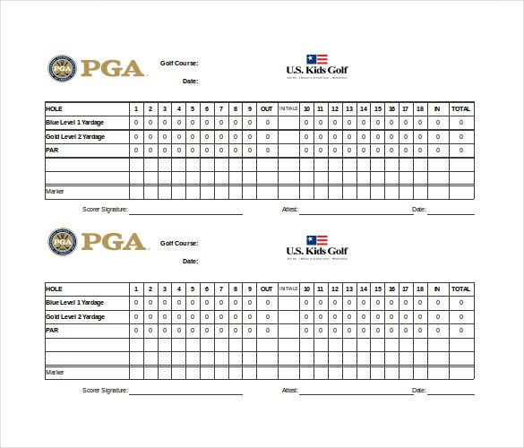 Golf tournament Template Excel Scoreboard Template – 10 Free Psd Pdf Eps Excel