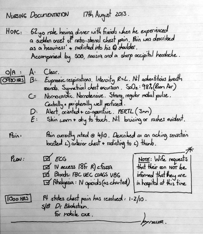 Good Nursing Notes Examples Nursing Notes How to Document Nursing Notes