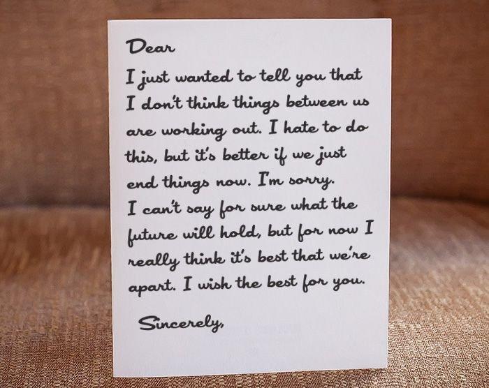 Goodbye Break Up Letter Best 25 Apology Letter to Boyfriend Ideas On Pinterest