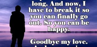 Goodbye Break Up Letter Break Up Letter to someone You Love All About Love Quotes