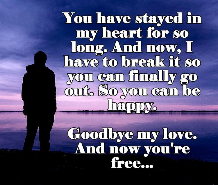 Goodbye Break Up Letter Goodbye Break Up Letter to Girlfriend All About Love Quotes