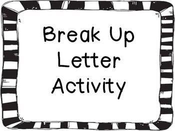 Goodbye Break Up Letter Help Me Write A Mature Goodbye Break Up Letter