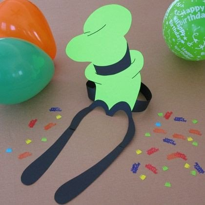 Goofy Hat Template A Goofy Party Hat