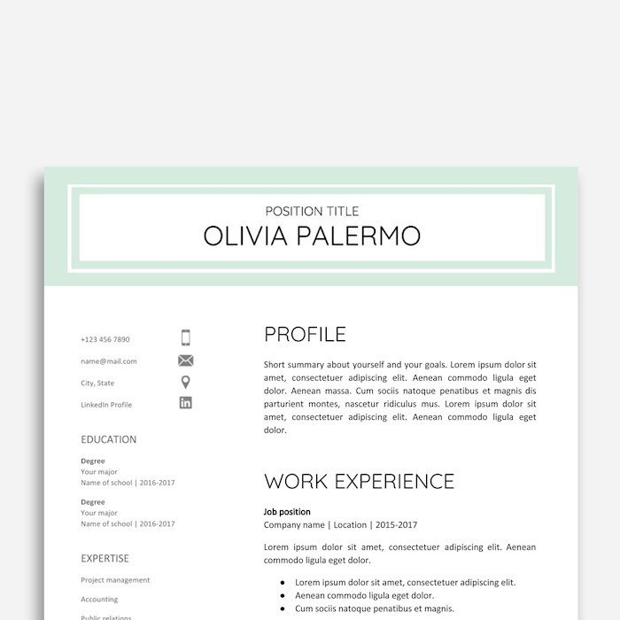 Google Cover Letter Template 21 Best Google Docs Resume Templates Google Drive Examples