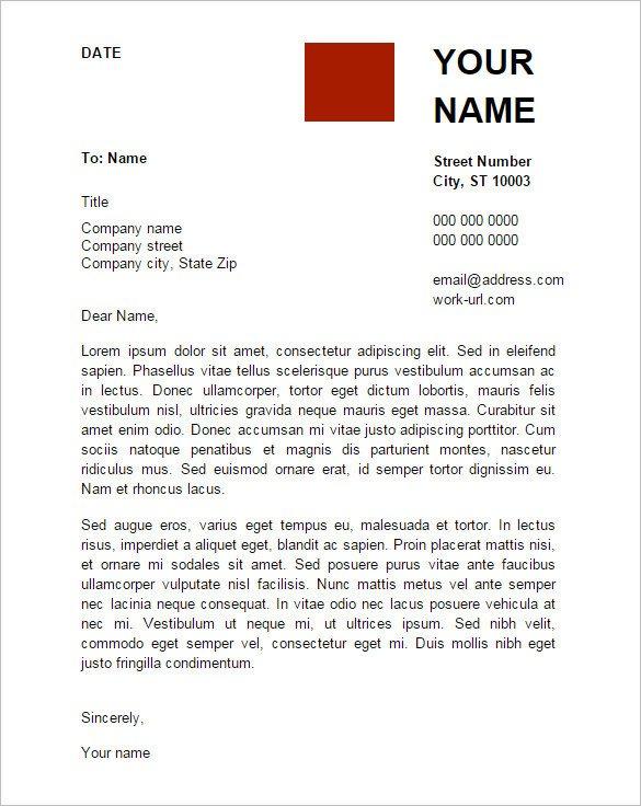 Google Cover Letter Template Letter Template Google Docs