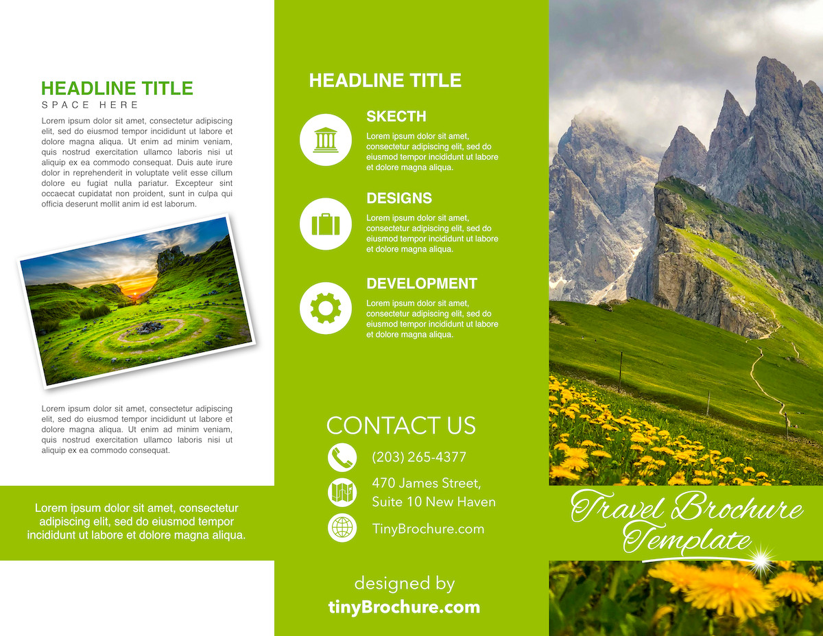 Google Docs Brochure Templates 3 Panel Brochure Template Google Docs Free