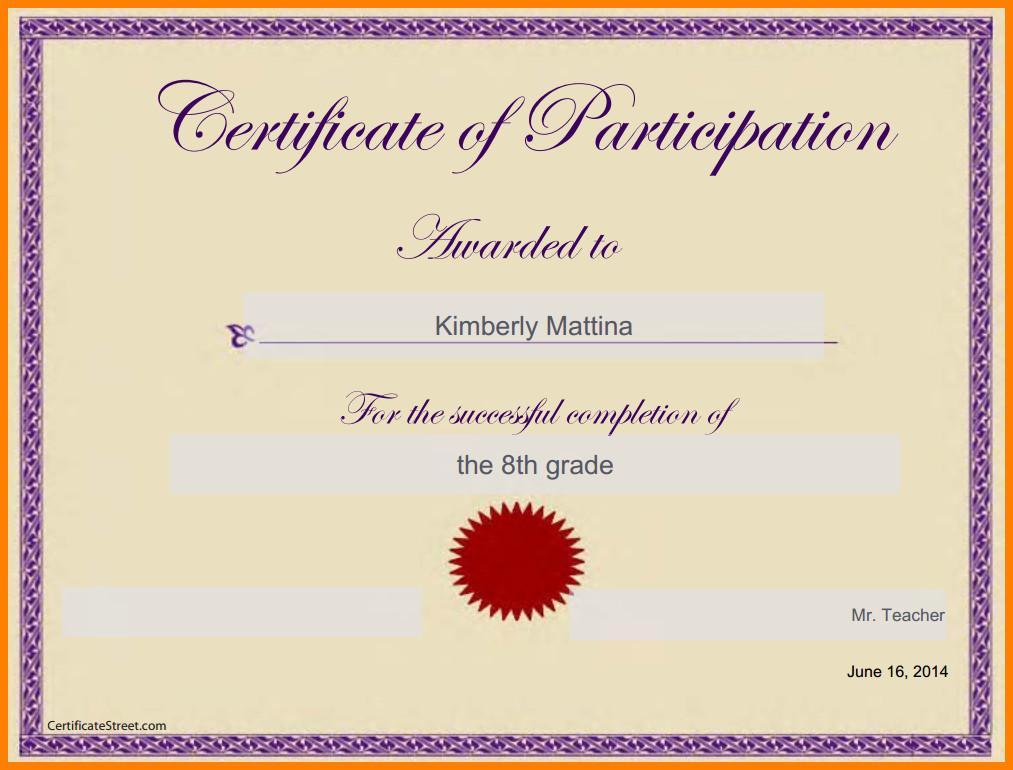 Google Docs Certificate Template Certificate Template Google Docs