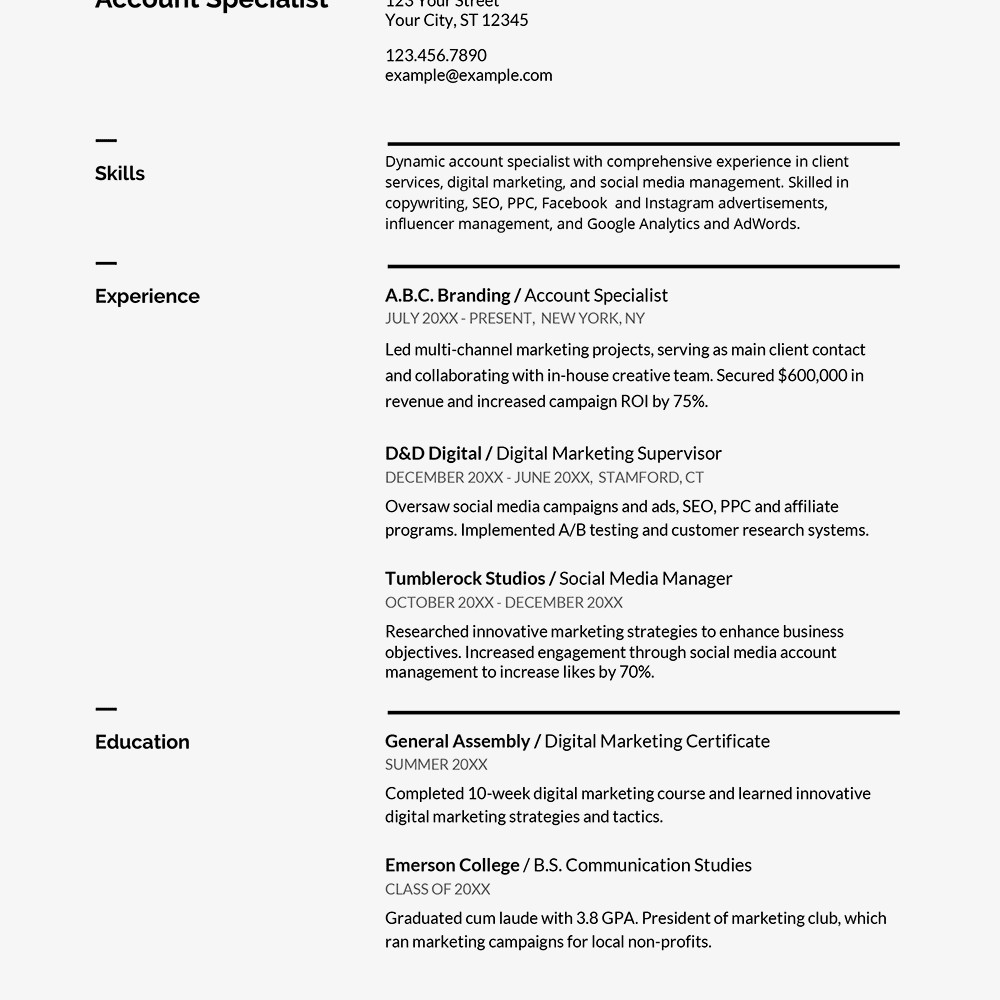 Google Docs Cover Letter Template Professional Resume Templates From Google Docs