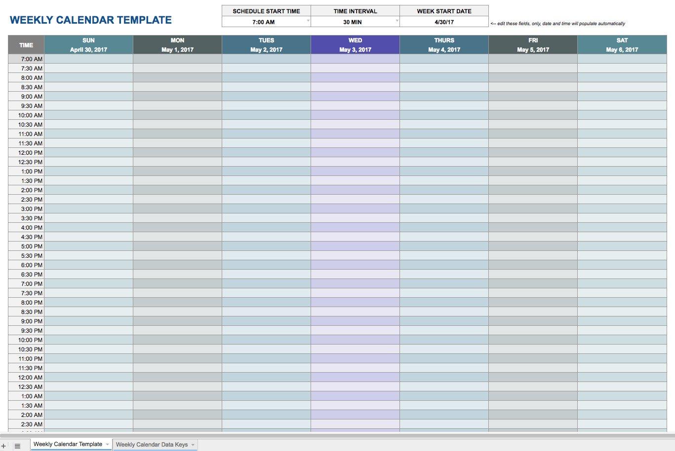 Google Docs Employee Schedule Template Weekly Schedule Template Google Docs