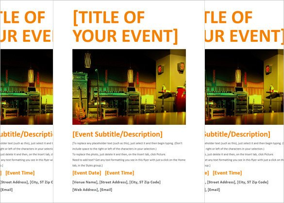 Google Docs event Flyer Template 40 Download event Flyer Templates Word Psd Indesign