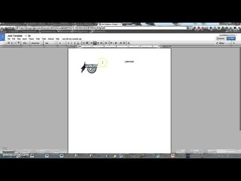 Google Docs Letterhead Template Creating A Letterhead Template In Google Docs
