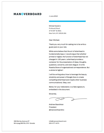 Google Docs Letterhead Template Creating Beautiful and Functional Letterhead In Google