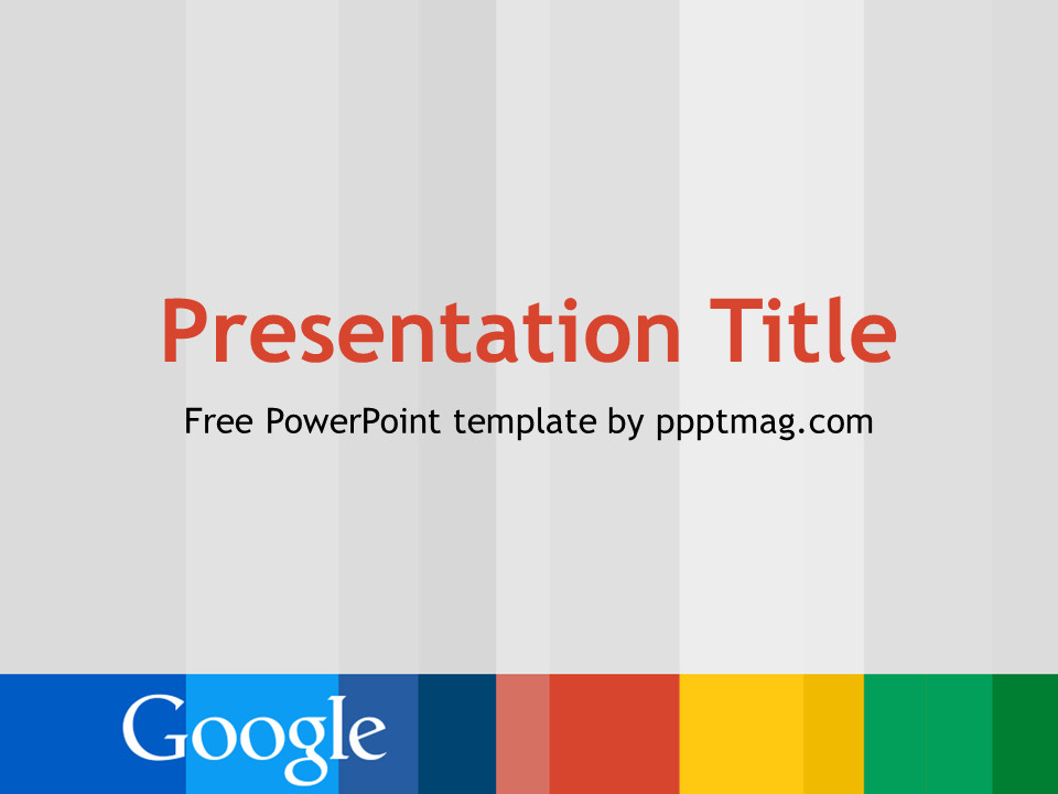 Google Docs Powerpoint Templates Free Google Powerpoint Template Pptmag