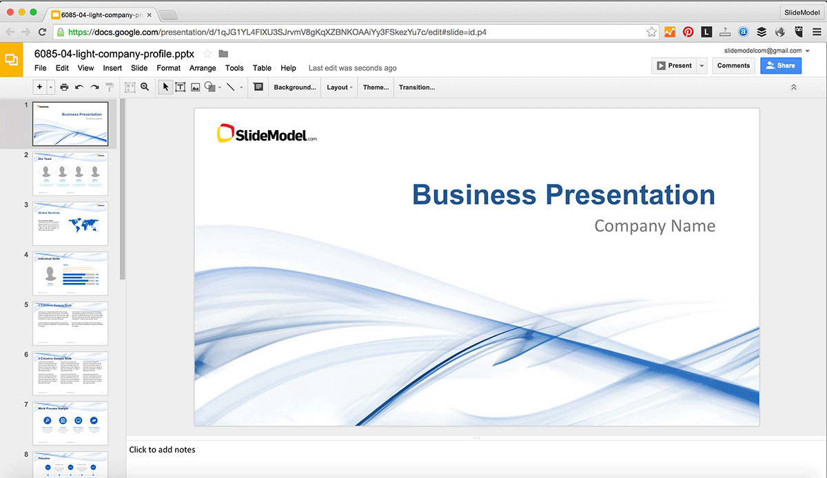 Google Docs Powerpoint Templates How to Edit Powerpoint Templates In Google Slides Slidemodel