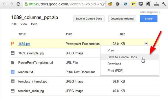 Google Docs Powerpoint Templates How to Open Powerpoint Templates In A Zip Using Google