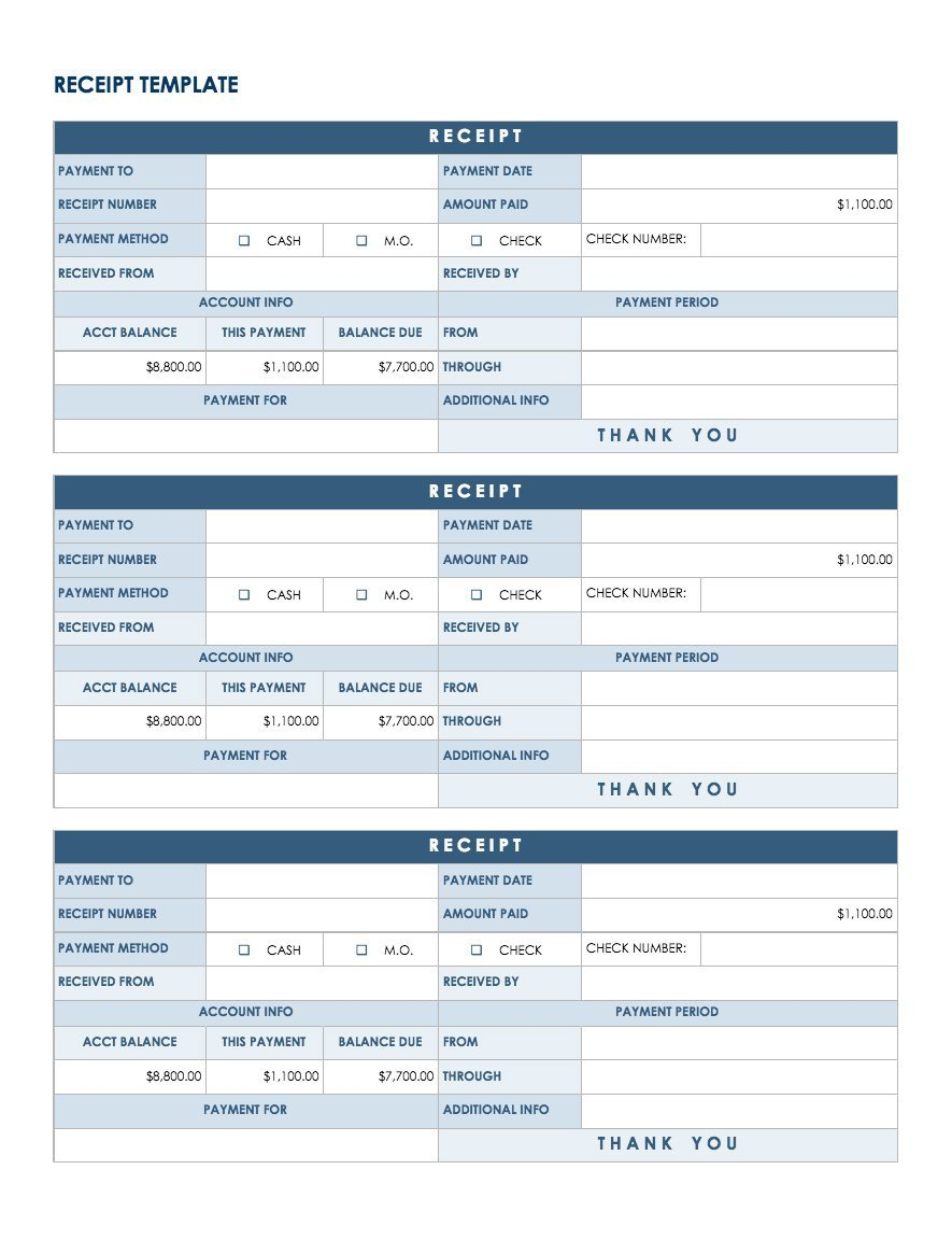 Google Docs Receipt Template Free Google Docs and Spreadsheet Templates Smartsheet