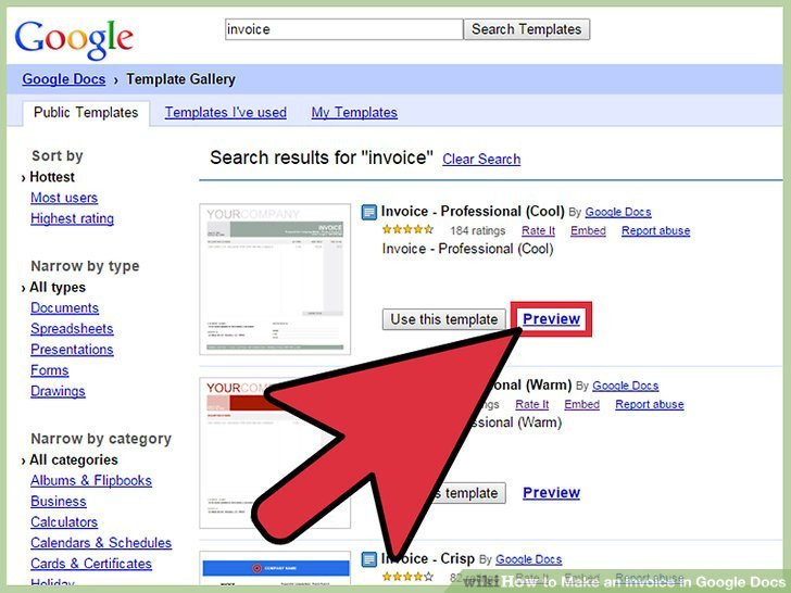 Google Docs Templates Invoice How to Make An Invoice In Google Docs 8 Steps with