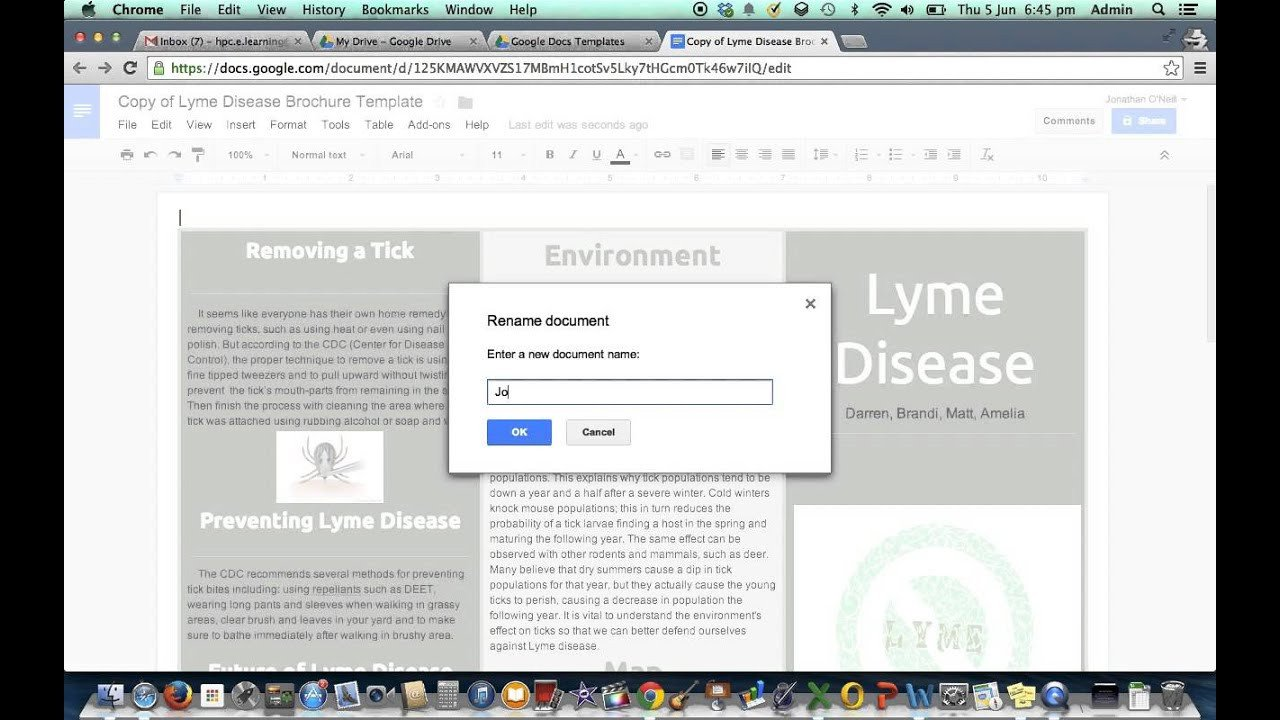 Google Drive Brochure Template Brochure Template In Google Drive