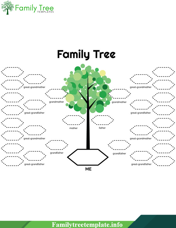 Google Family Tree Template Family Tree Template