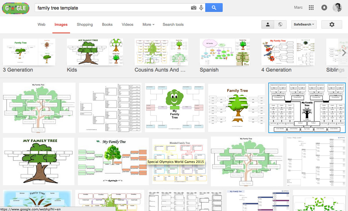 Google Family Tree Template Take Out Family Tree Shop Tutorial and Free