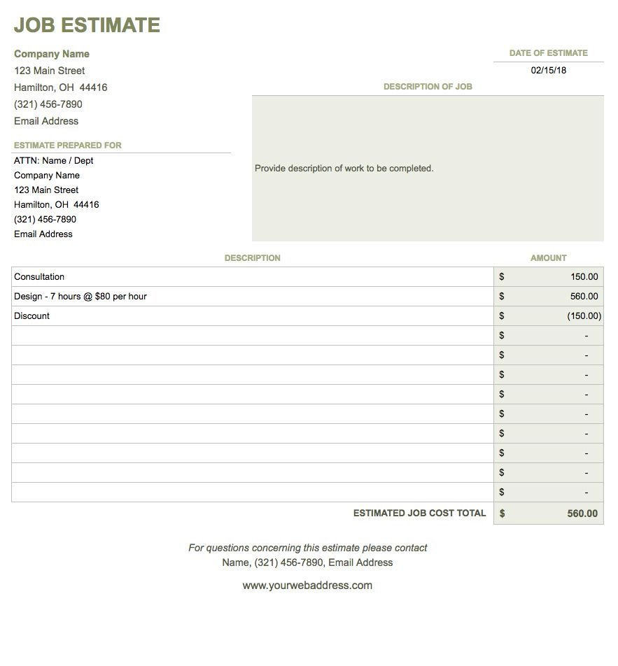 Google Sheet Invoice Template Free Google Docs Invoice Templates