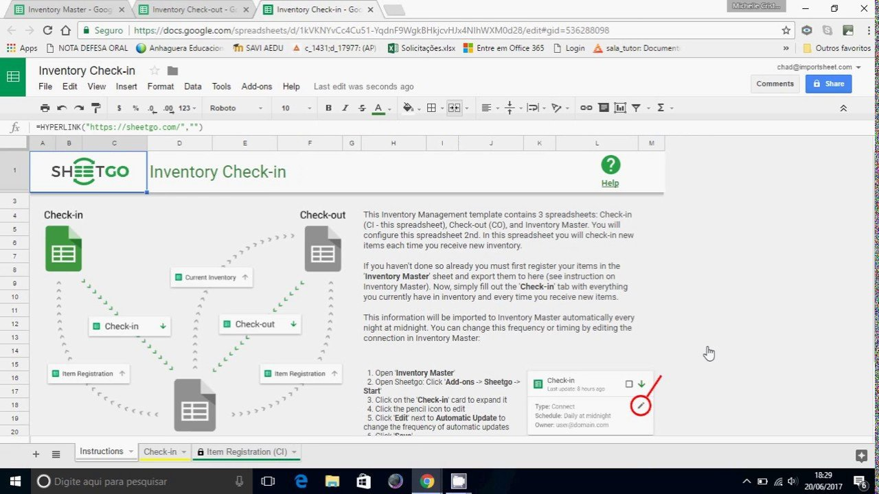 Google Sheets Inventory Template Google Sheets Inventory Management Template