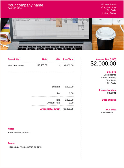 Google Sheets Invoice Template Free Google Docs Template Download & Customize