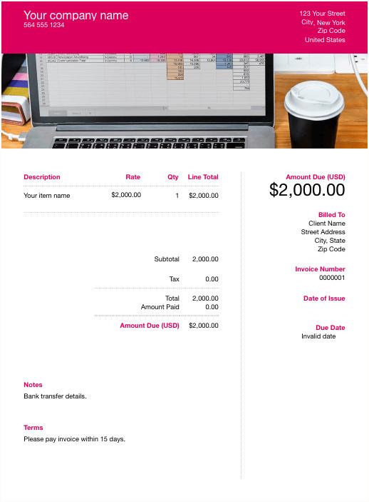 Google Sheets Invoice Templates Free Google Docs Template Download & Customize