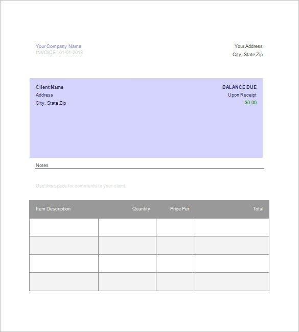 Google Sheets Invoice Templates Invoice Google Docs