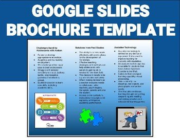 Google Slides Brochure Template Brochure Template Editable On Google Slides by Roombop