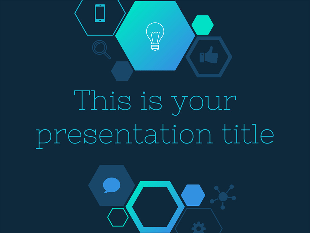 Google Slides Templates Science Free Dark and Techy Powerpoint Template or Google Slides theme