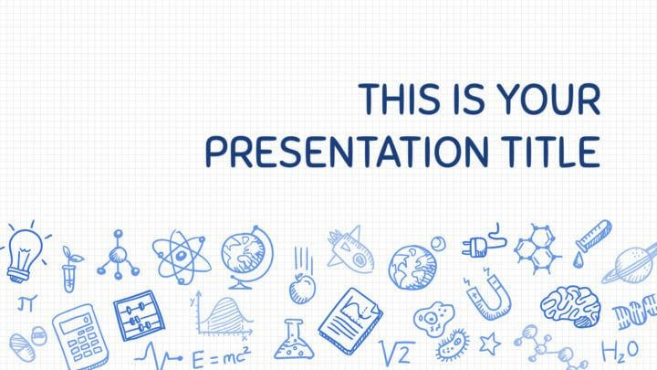 Google Slides Templates Science Free Playful Powerpoint Template or Google Slides theme